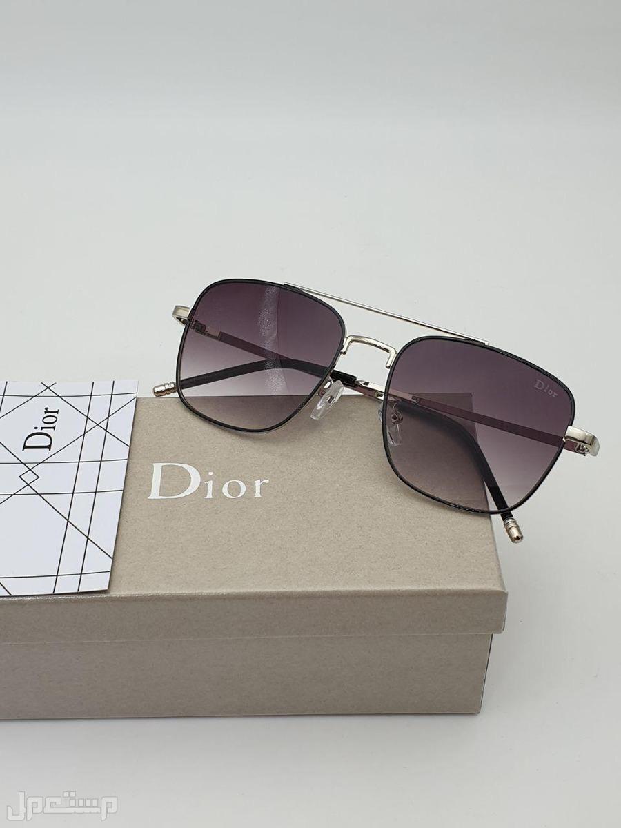 نظارات ديور مع جميع الملحقات 2