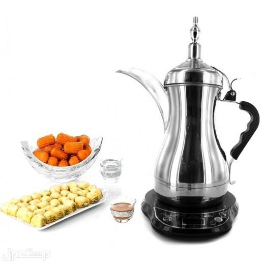 دلة العرب الكهربائية لتحضير وتقديم القهوة العربية