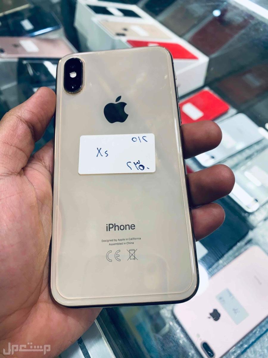 للبيع ايفون اكس اس ذهبي 512 مستخدم