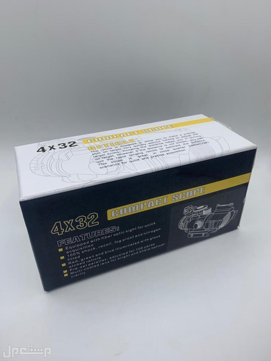 دربيل (كومت) بالالياف البصرية 4x32 يحتوي علي نيتروجين وبارد علي العين