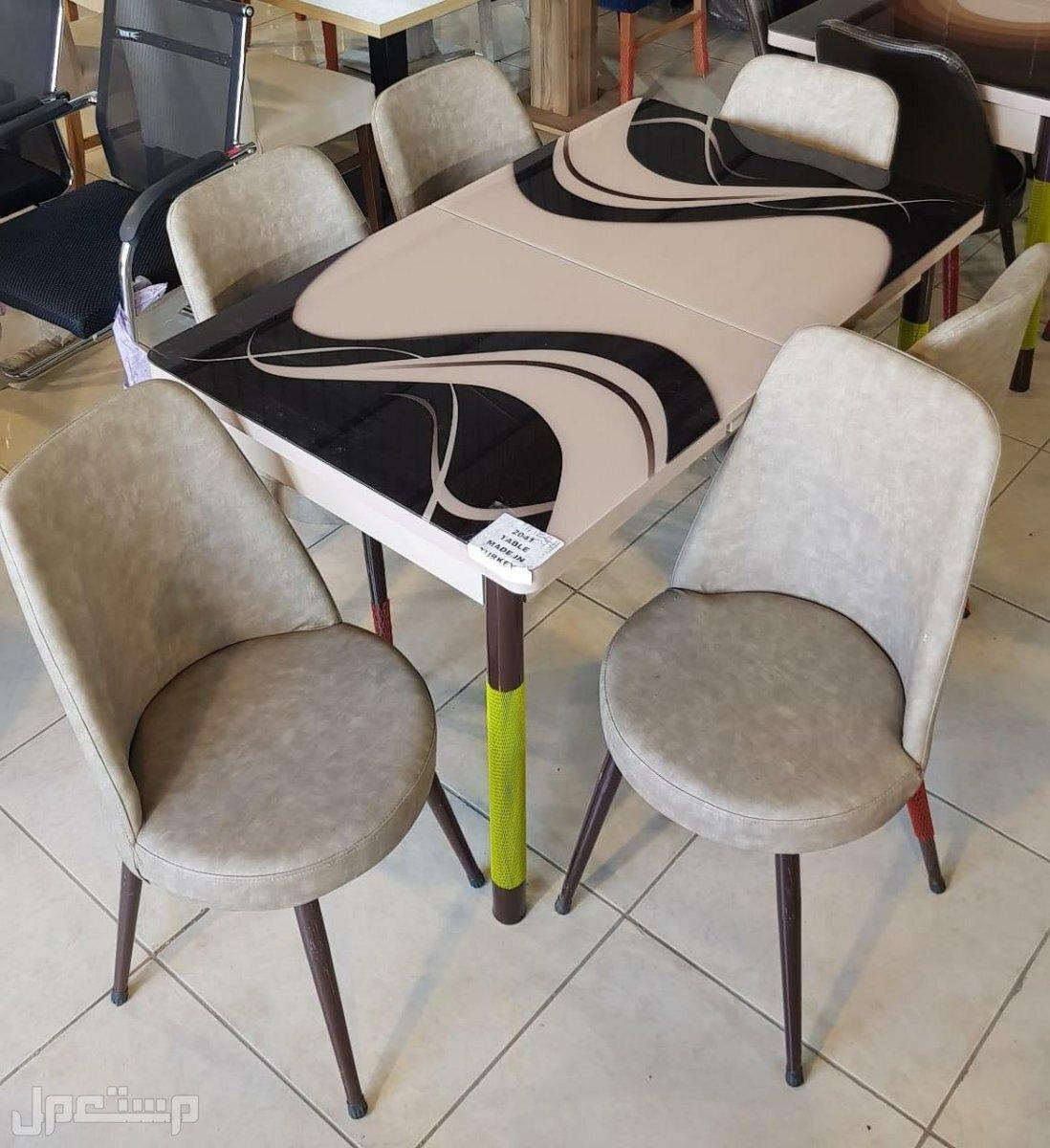 طاولات بكراسي مريحه جدا💥😉