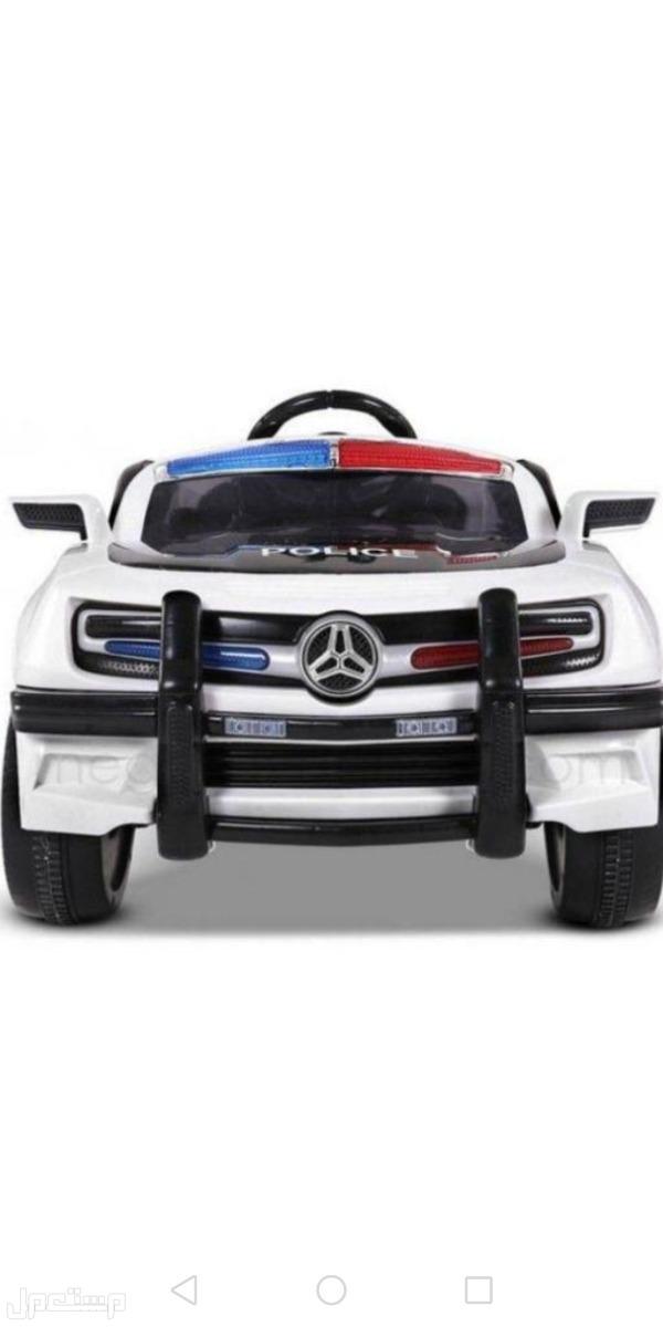 سيارة الشرطة للأطفال بشكل جذاب ومميز