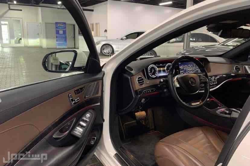 مرسيدس S550 داخلية مميزه 2017