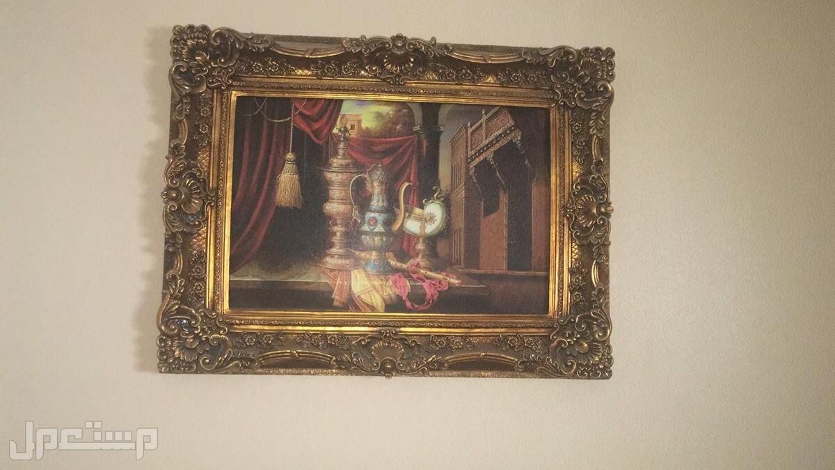 اثاث منزلي للبيع : مطبخ و غرفة نوم ولوحات جداريةو ستائر