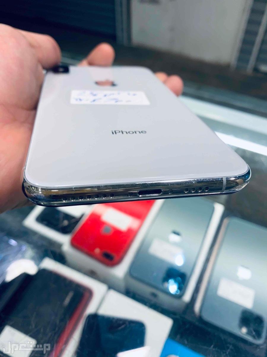 للبيع ايفون اكس اس ماكس 256 مستخدم ابيض