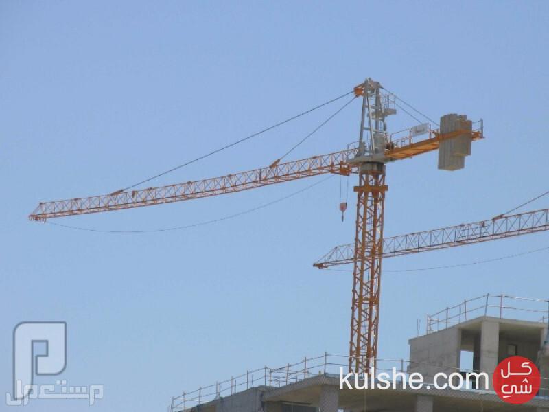 رافعة برجية tower crane للبيع والايجار