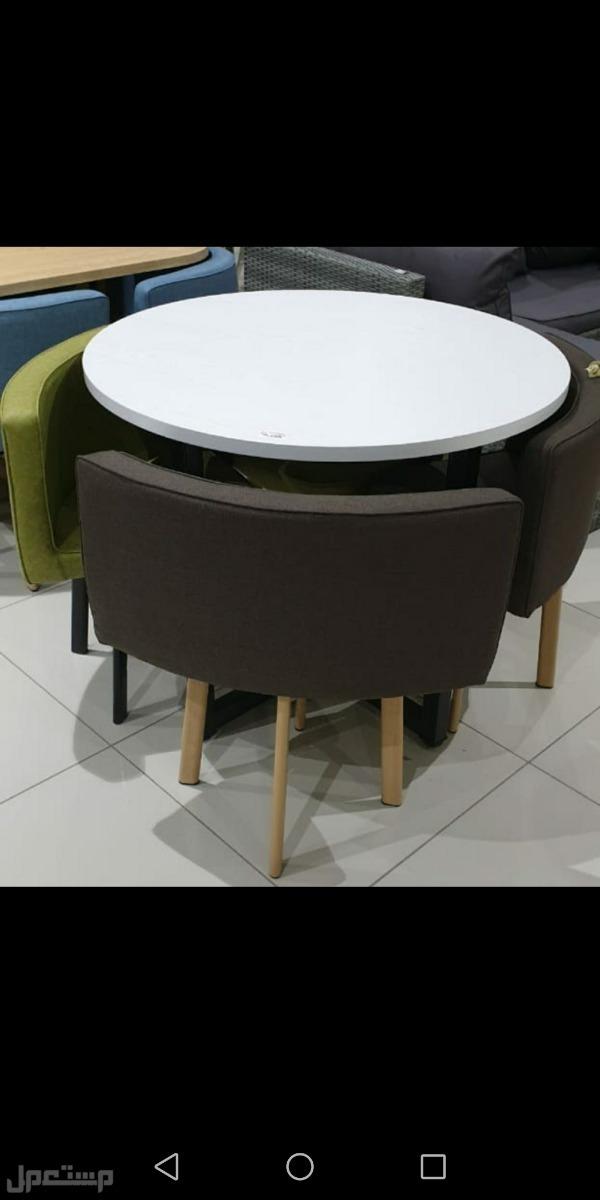 طاولات 4 كراسي  خشب صناعه تركيه