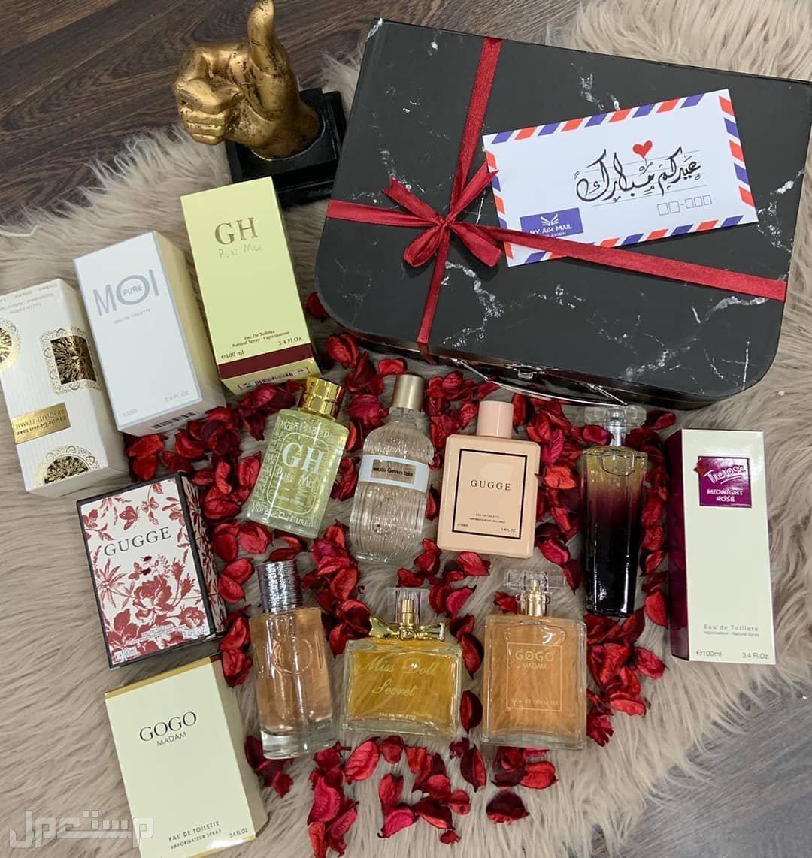 هدايا العيد  مجموعه عطور مميزه اشكال ماركات مختله وبسعر مميز