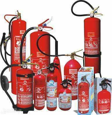 طفايات الحريق وأدوات السلامة