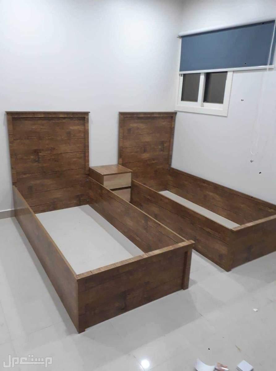 تفصيل جميع غرف النوم والمكاتب والطاولات والمطابخ