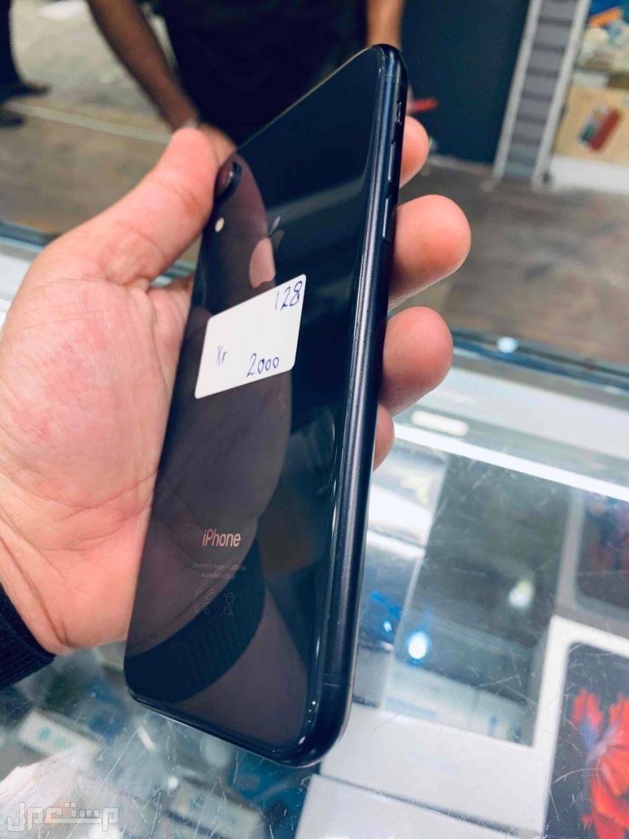 للبيع ايفون اكس ار 128 اسود مستخدم