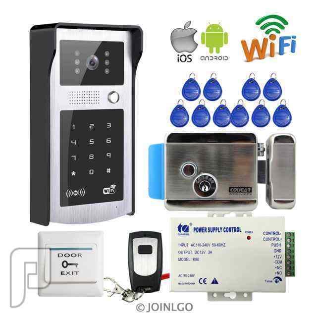 IT وشبكات المعلومات Intercom and access control