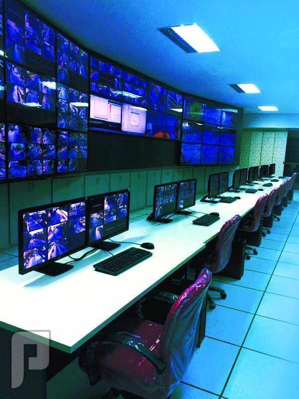 IT وشبكات المعلومات Control room