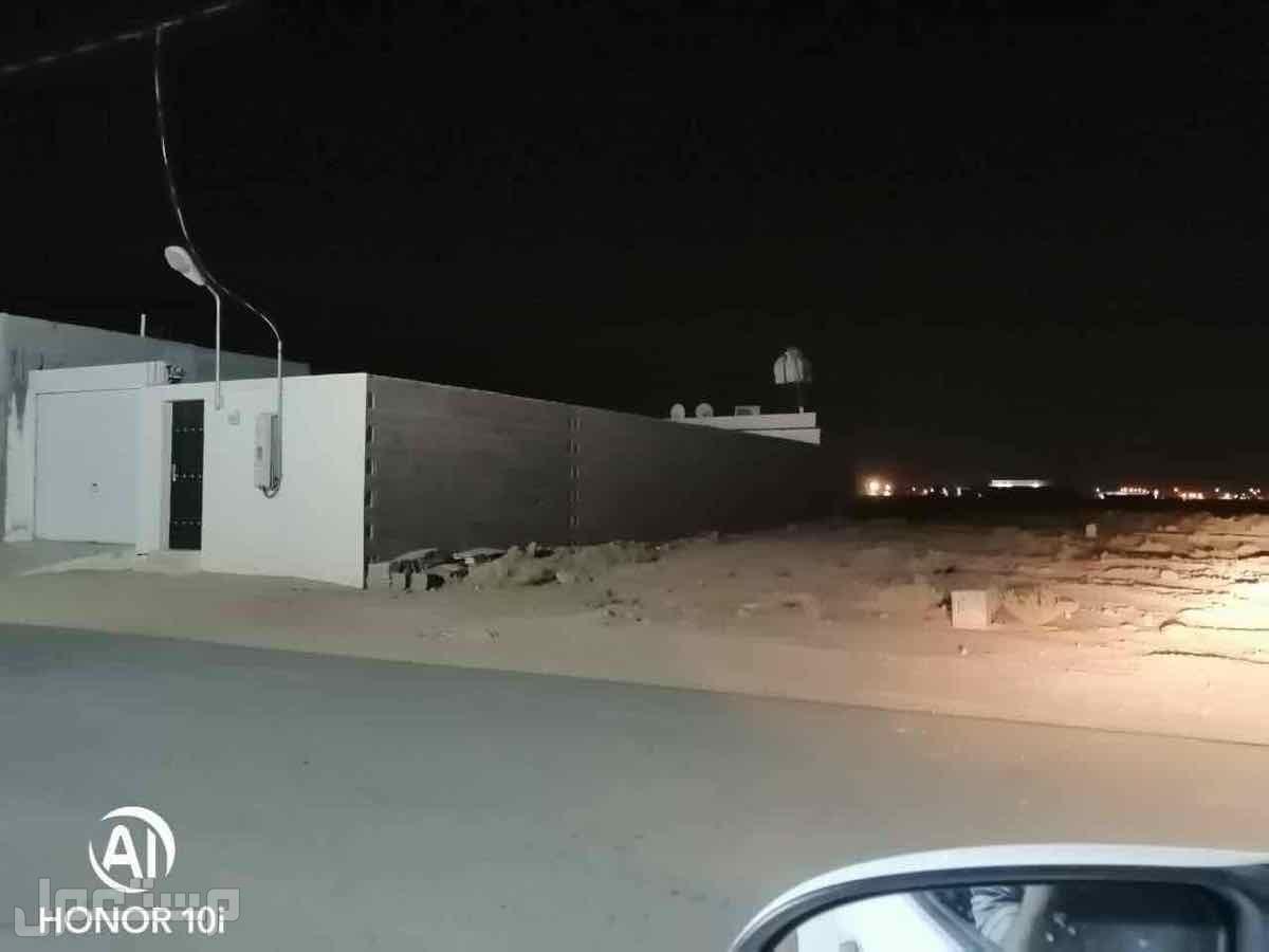 ارض بصك شرعي غرب بريدة وفيها شاليه