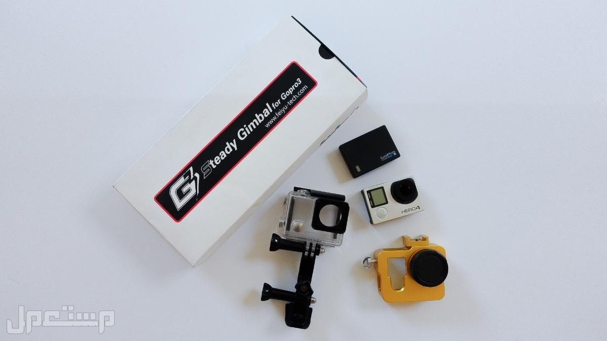 للبيع كاميرا قوبرو 4 ومانع أهتزاز