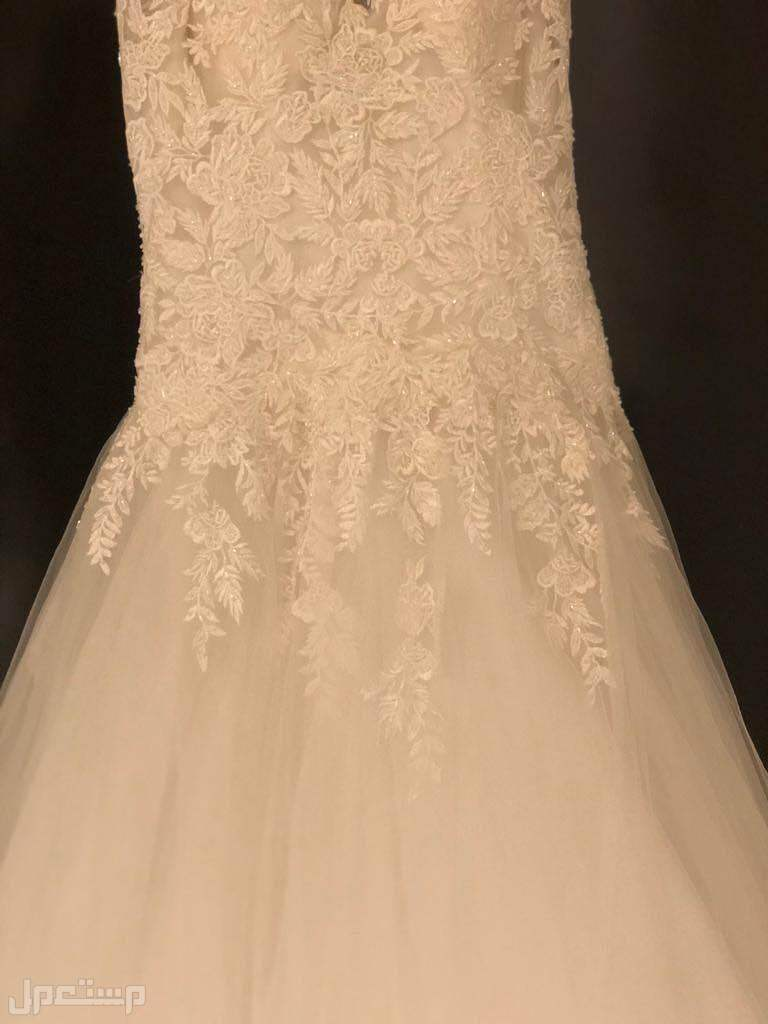 فستان زفاف من بوتيك بسمة الجزائري بالرياض
