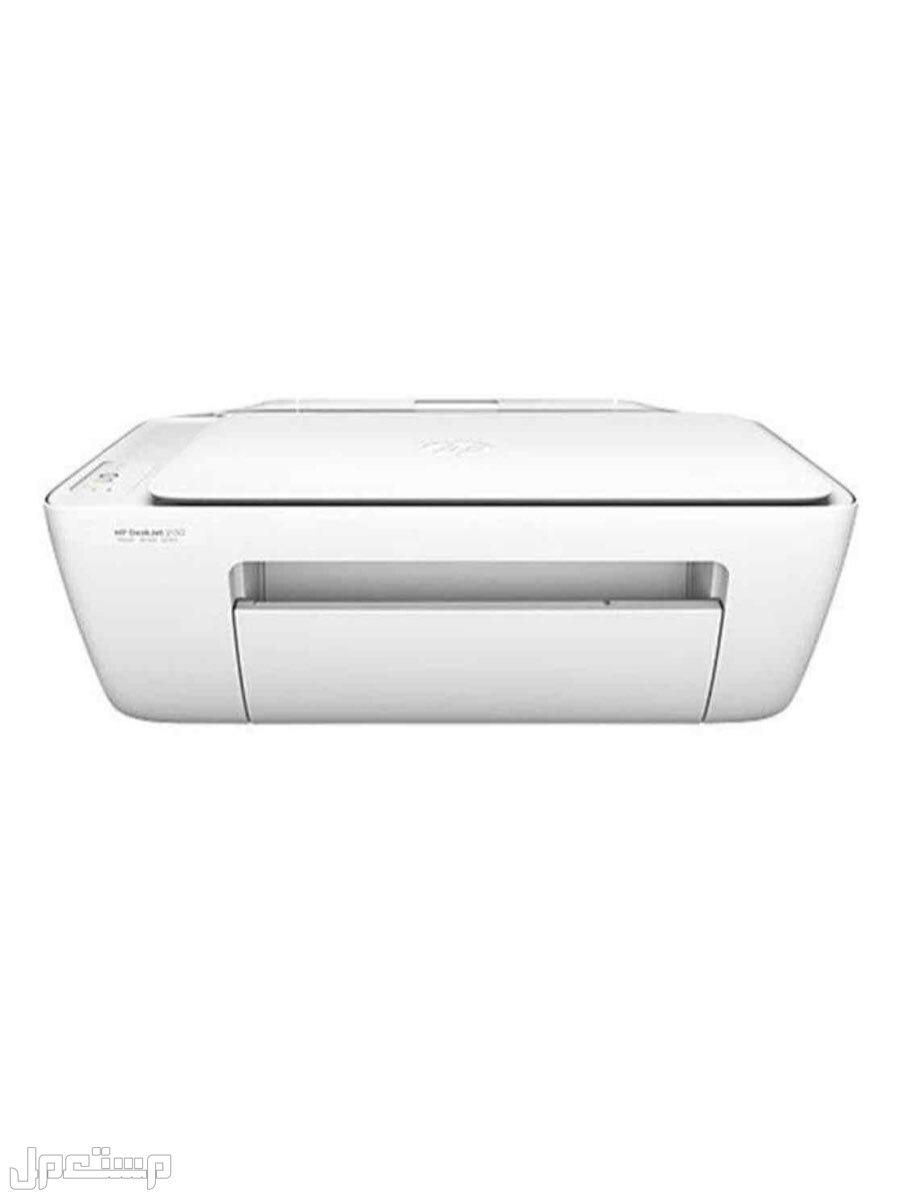 طابعة ديسك جيت متكاملة بخصائص الطباعة والنسخ والمسح الضوئي أبيض