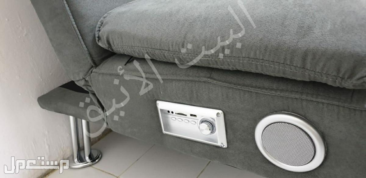 كنب سرير طبي يتحول ويصير سرير مع مسجل وسماعات مدموجة
