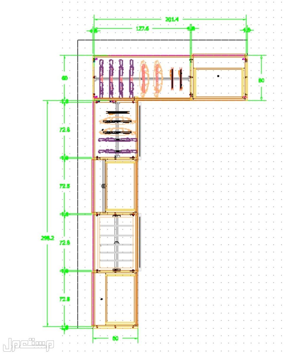 تصميم مطابخ خزائن ديكورات خشبية 3D وأوتوكاد