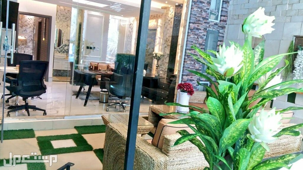 مكتب جاهز للايجار في العليا طريق الملك فهد