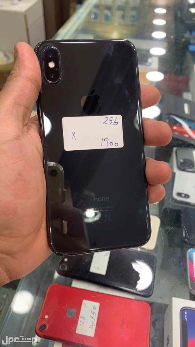 للبيع ايفون اكس اسود 256 مستخدم
