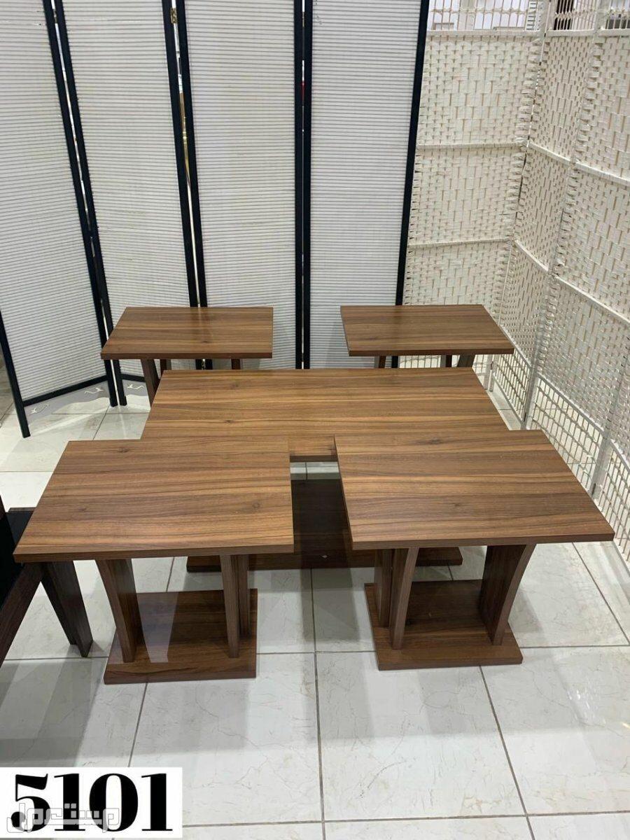 طاولات خدمة خشب جديد