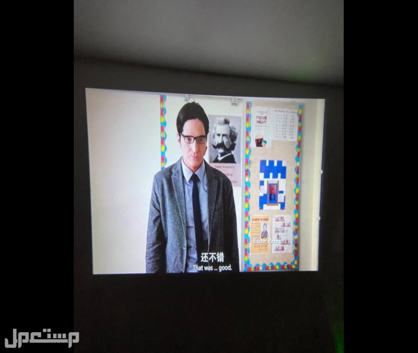 بروجكتر واي فاي بدقة عالية 1080P الجديد