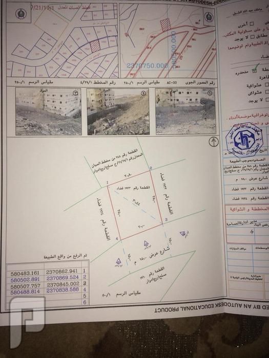 أرض للبيع في أرقى مخططات مكة المكرمة .. الحمراء