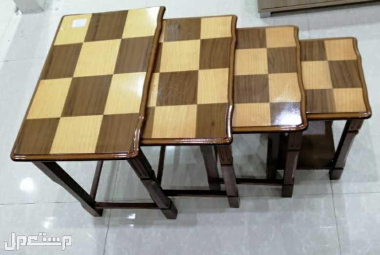 طاولات 4 قطع خدمة جديدة بالكرتون
