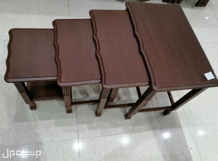 طاولات 4قطع جديدة بالكرتون خامة ممتازة