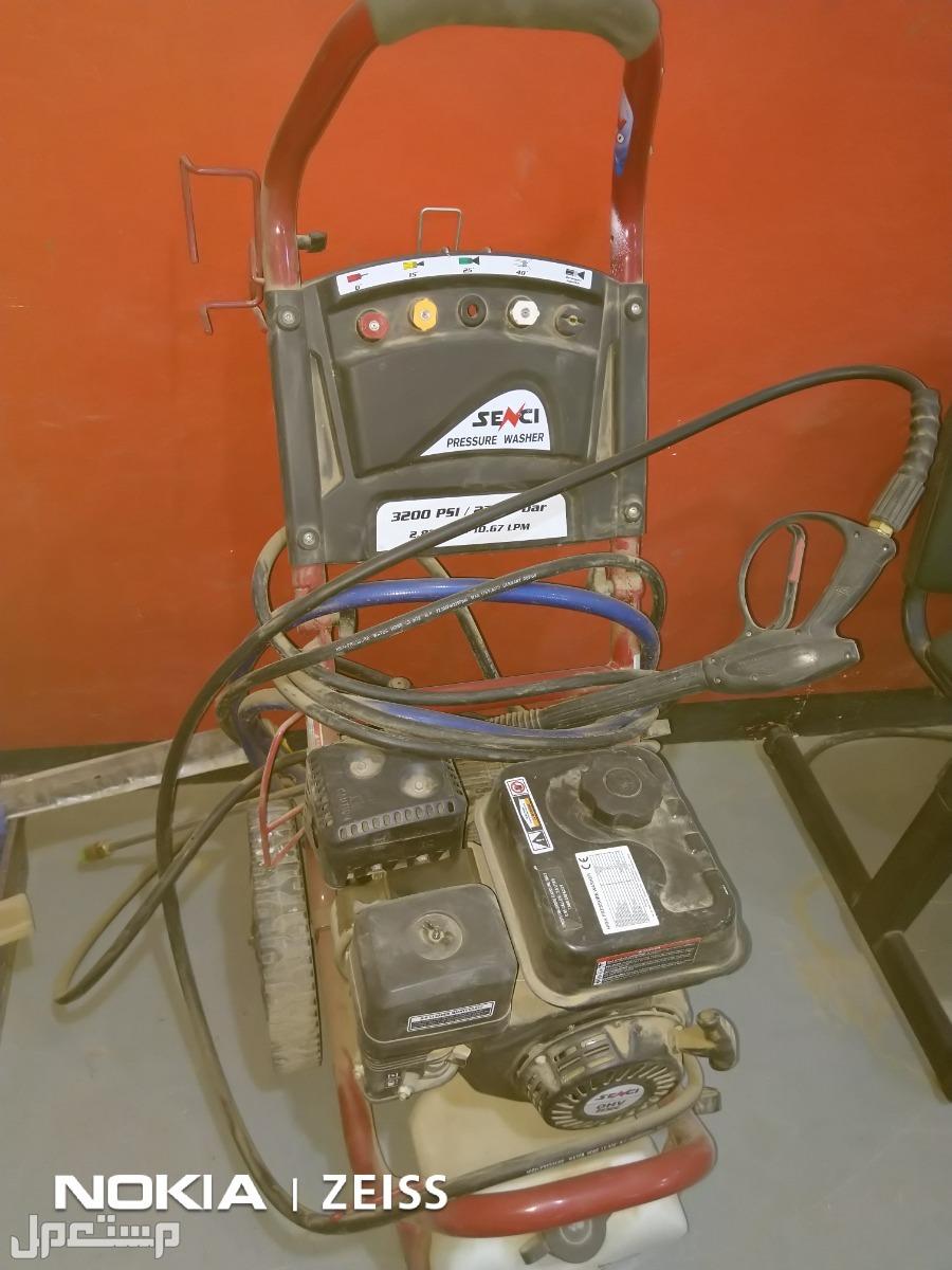 جهاز ضغظ مياه... ونشو ...بنزين270 بار استخدام خفيف