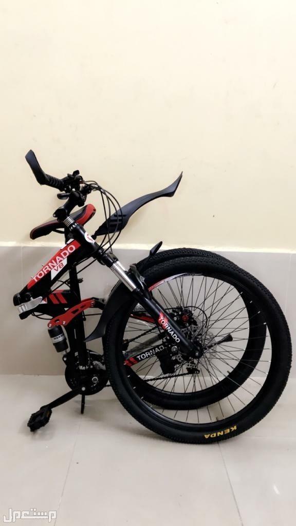دراجات ماركة تورنادو نوع كفرات عريضة والاخر نحيفة باسعار مناسبة