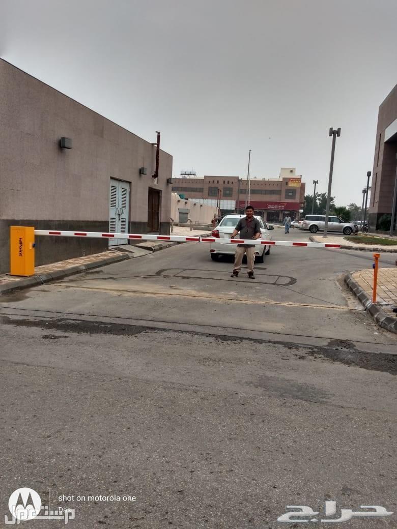 نظام مواقف السيارات Parking Barrier بوابة MOOVI بذراع 5 متر من طيف الالماس