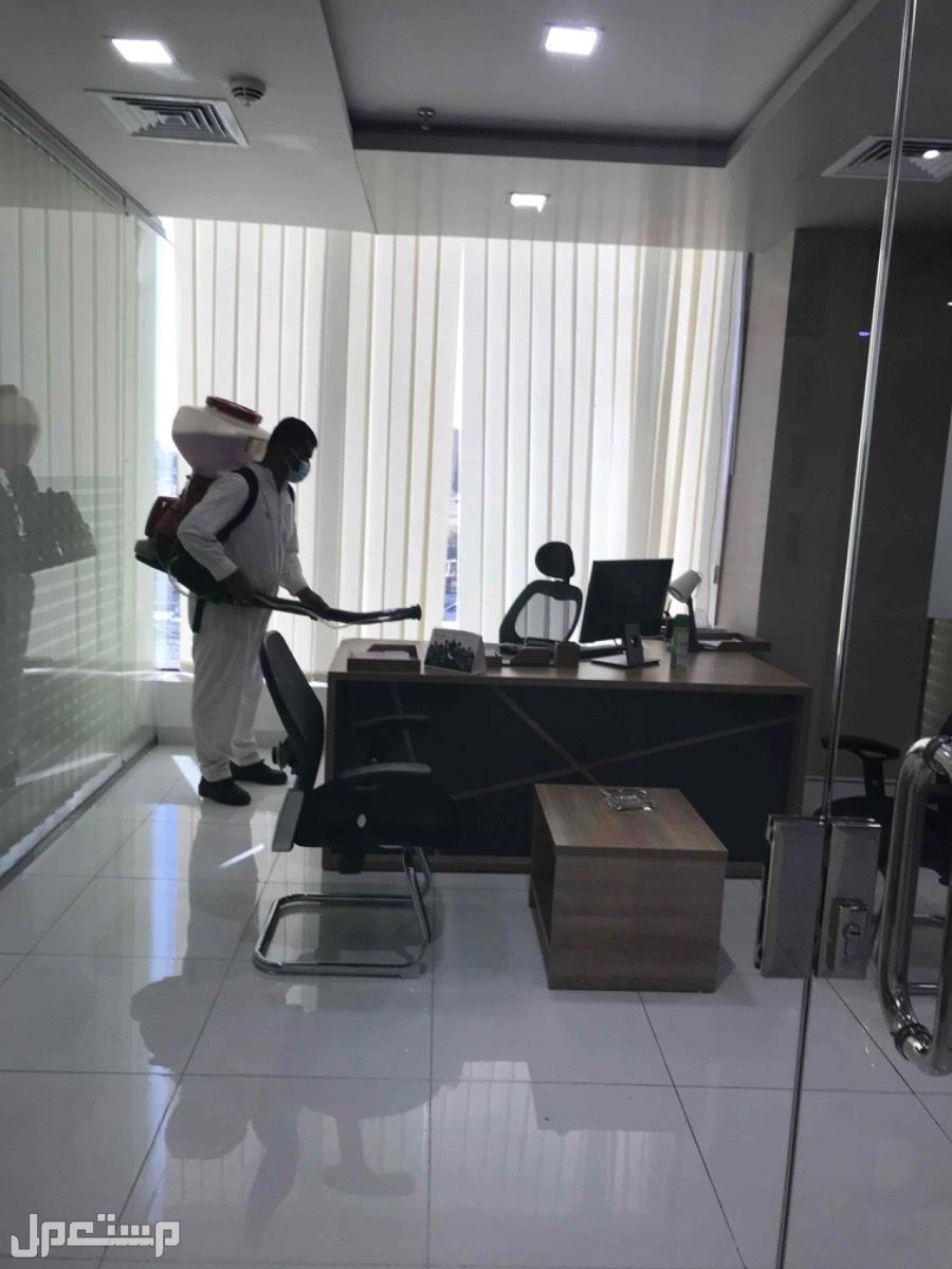 مكافحة حشرات وتعقيم ضد الفيروسات Pest Control تعقيم الشركات والمكاتب