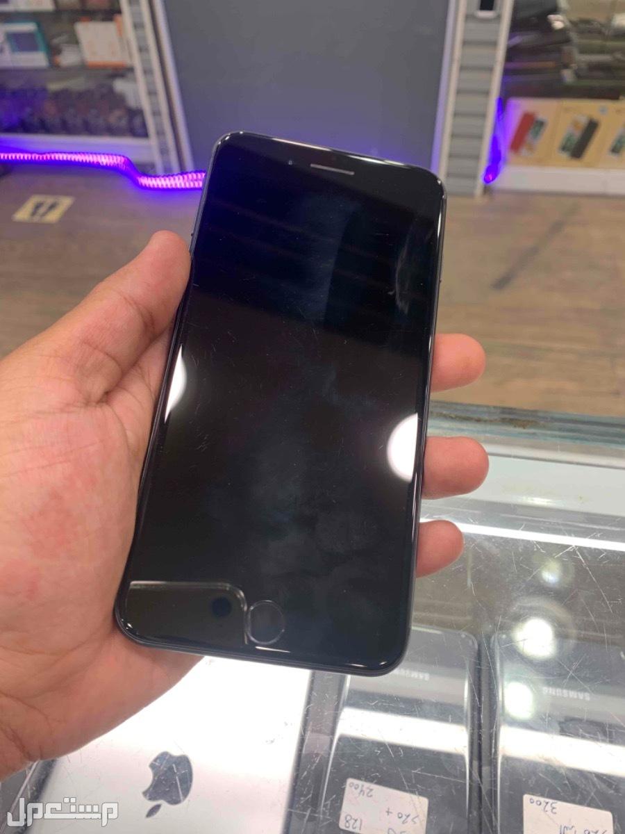 للبيع ايفون 8 بلس 64 مستخدم اسود
