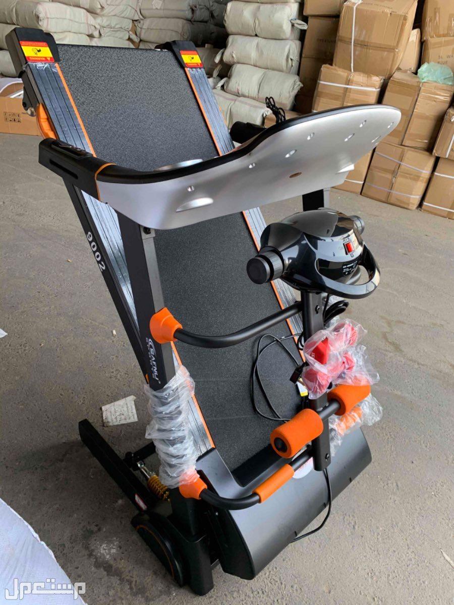 سير كهربائي و دراجة ثابته للتمارين جسم كامل