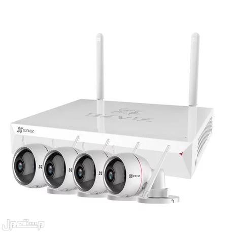 كاميرات مراقبة واي فاى مباشر عبر الجوال كاميرات مراقبة جودة عالية Hikvision HD طيف الالماس