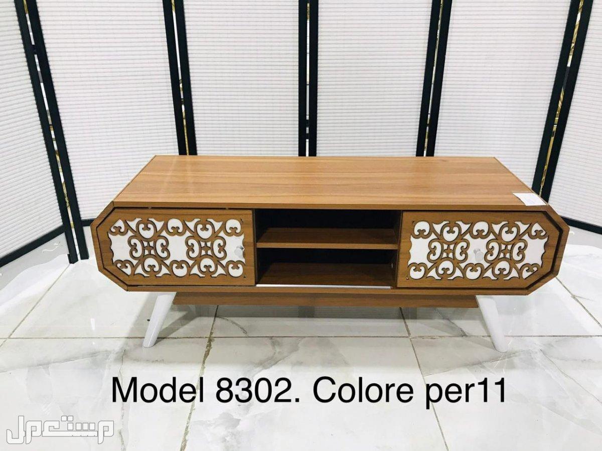 طاولات تلفزيون جديدة بالكرتونة باسعار رائعه