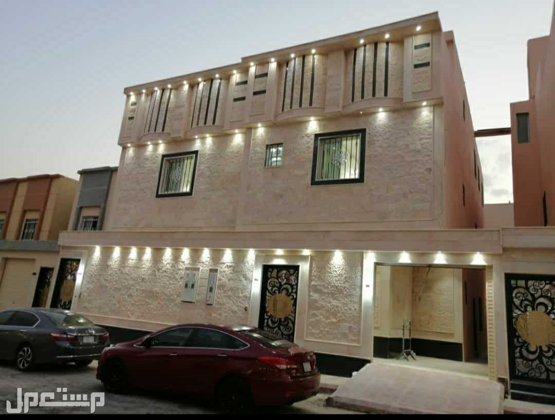 للبيع فيلا درج وشقتين حي الغروب طويق الرياض