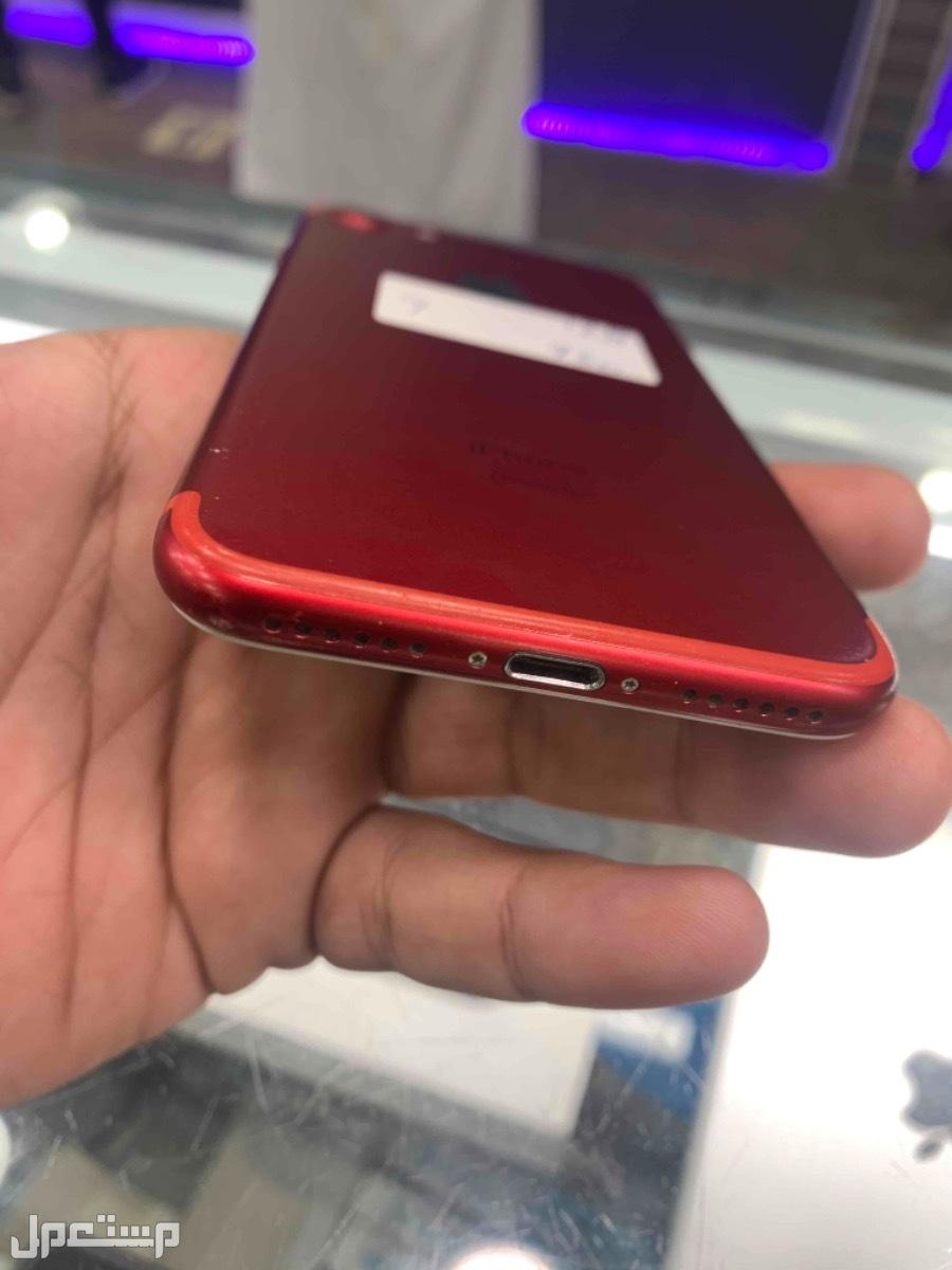 للبيع ايفون 7 احمر مستخدم 128
