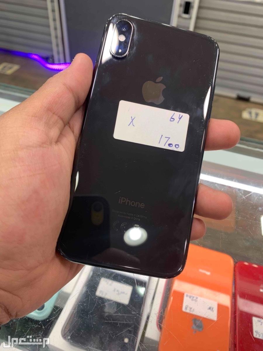 للبيع ايفون اكس 64 مستخدم اسود