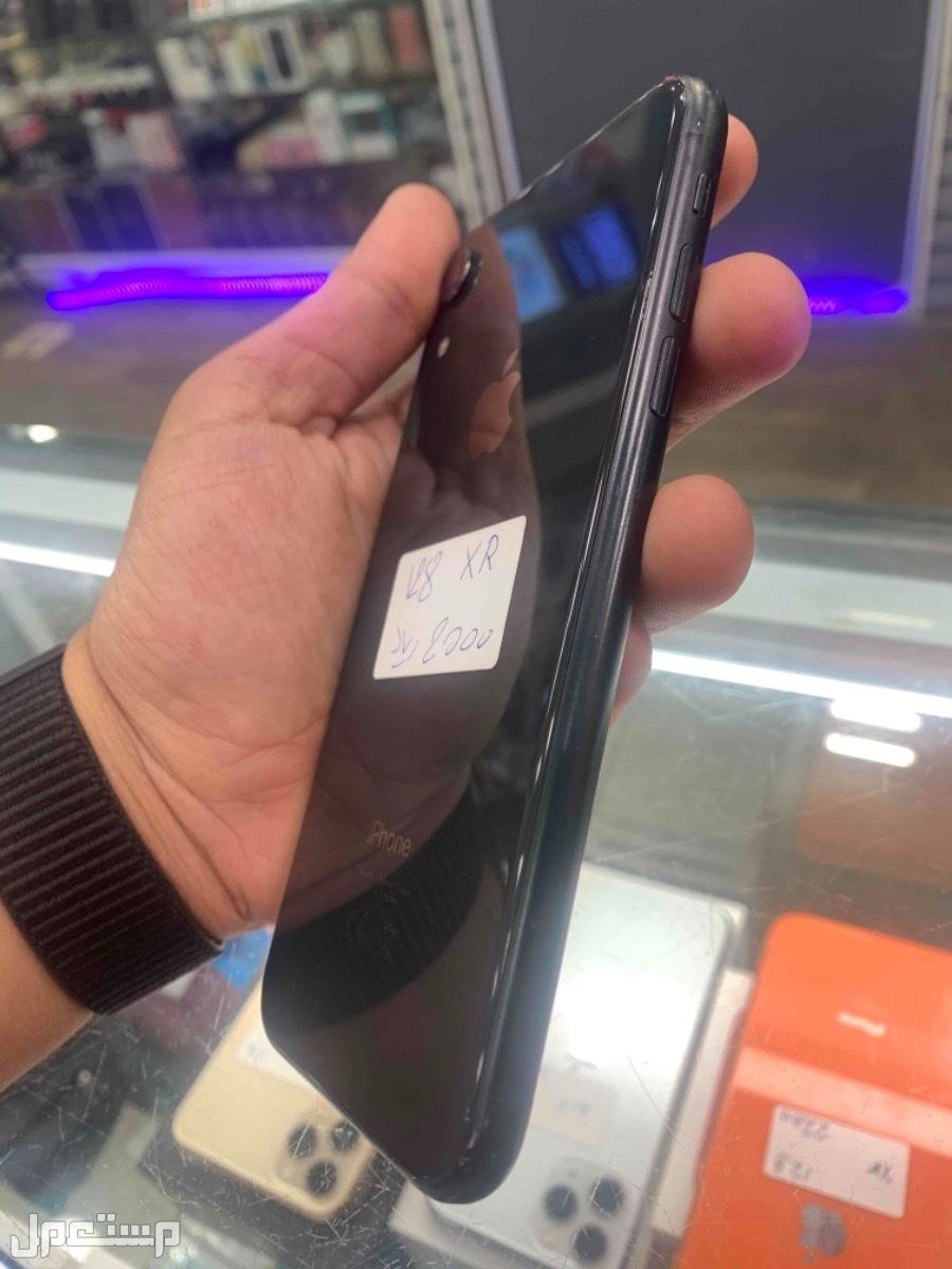 للبيع ايفون اكس ار اسود 128 مستخدم