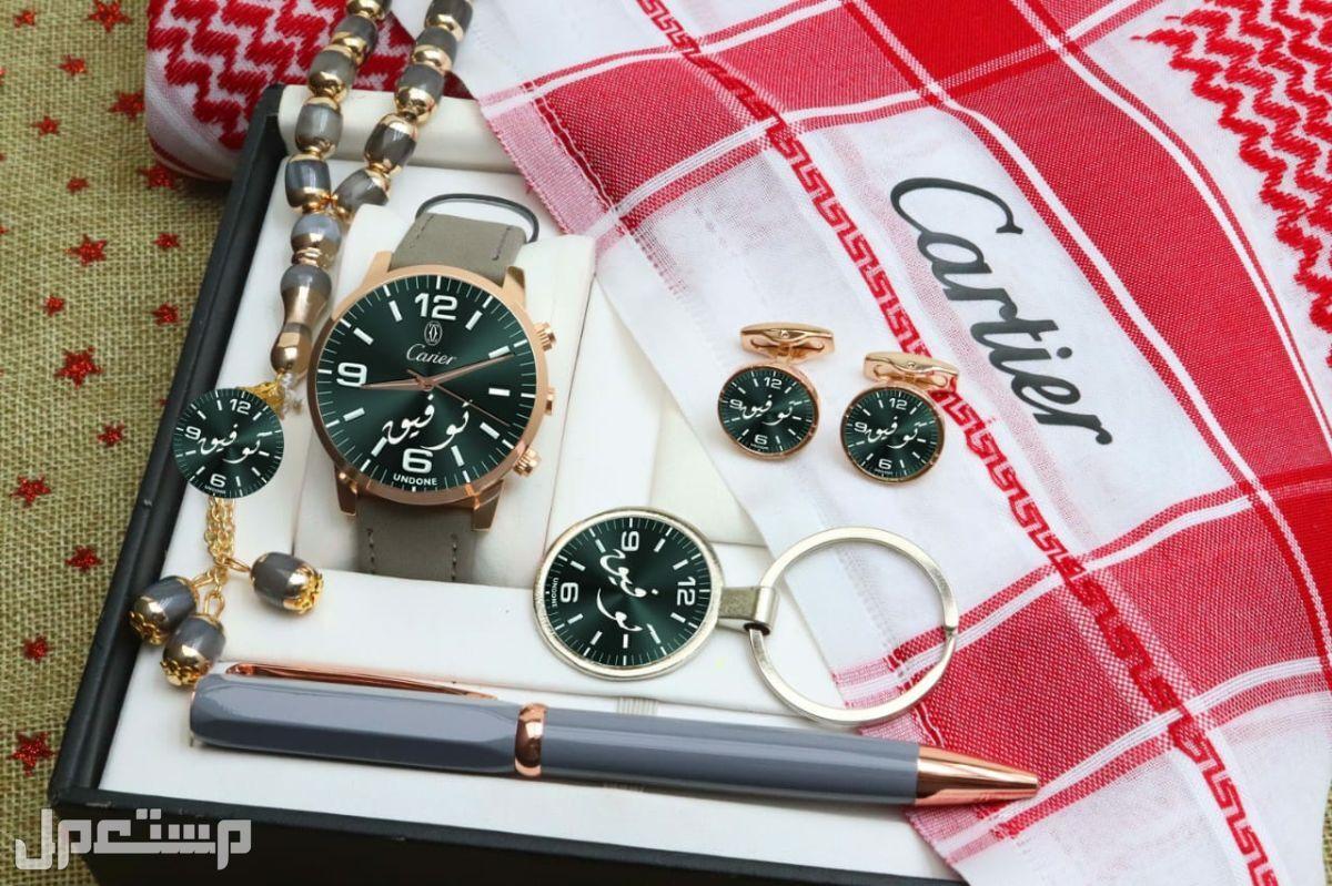طقم ساعة رجالي ماركة مونت بلانك