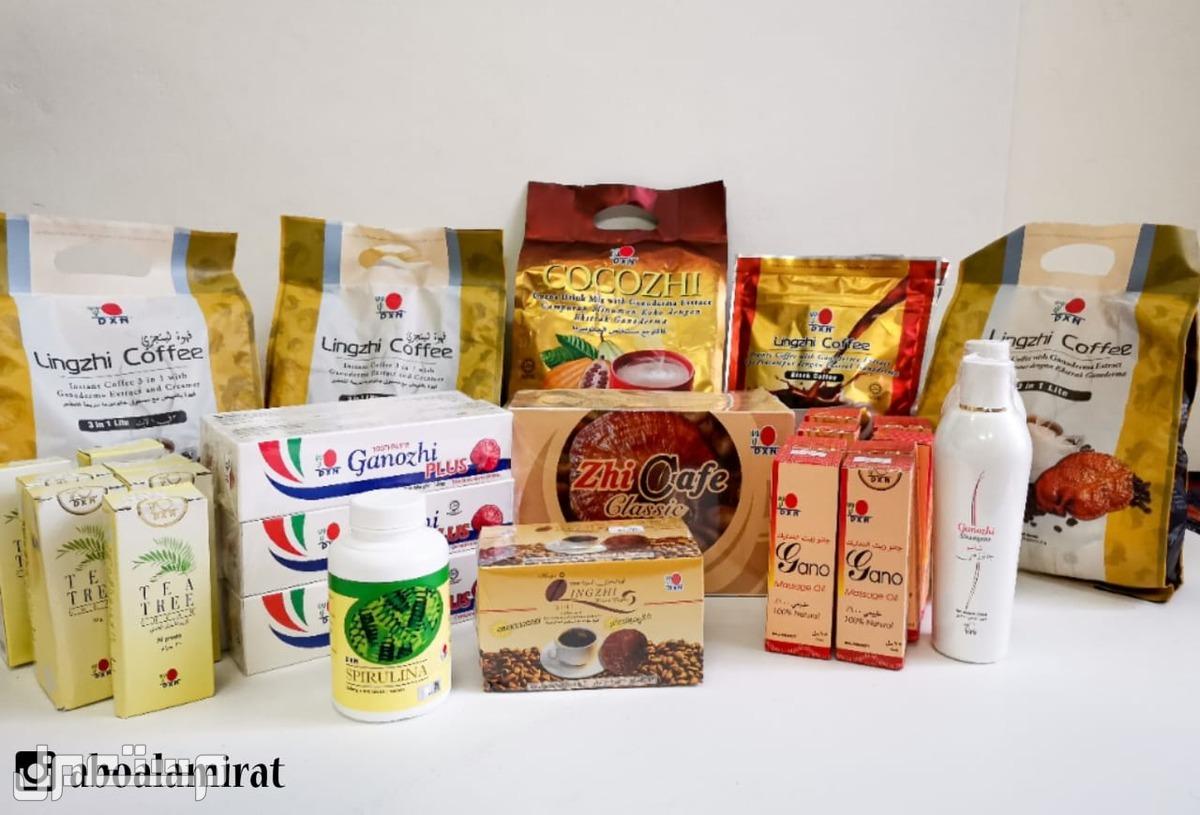 قهوة DXN  3×1 و لايت صحية بعض منتجات DXN المتوفرة لدينا