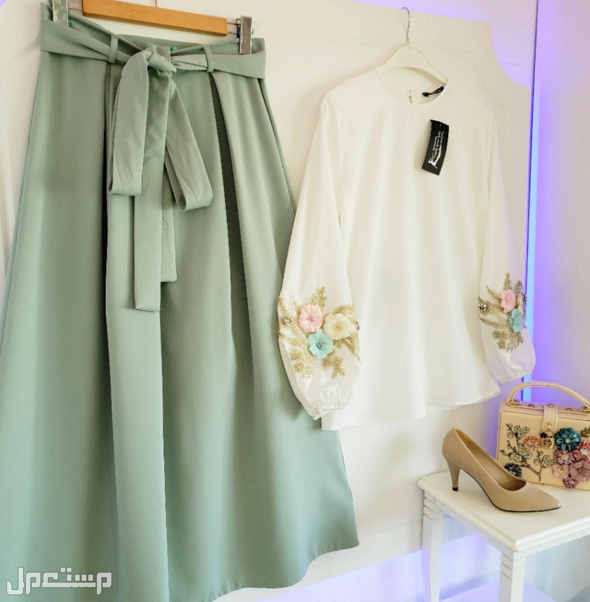 تنورة وقميص من اجمل التصاميم