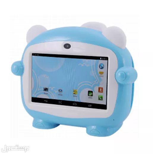 جهاز تابلت للاطفال + ستيكر حماية للشاشة و مايك لمزيد من المتعة