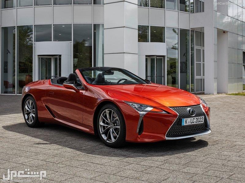 Lexus LC 500 Convertible (2021)