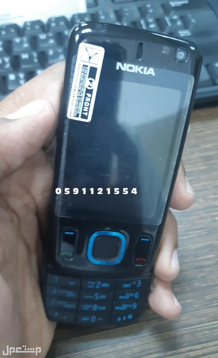 جوال نوكيا Nokia 6600S سلايد - سحاب