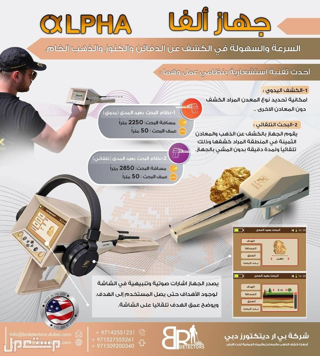 جهاز كشف المعادن 2021 في السعودية الفا - بي ار دبي جهاز كشف المعادن 2021 في السعودية الفا - بي ار دبي