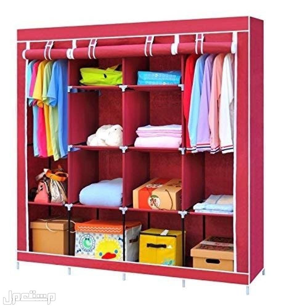 خزانة الملابس قابل للطي (قماش) السعر 135 ريال